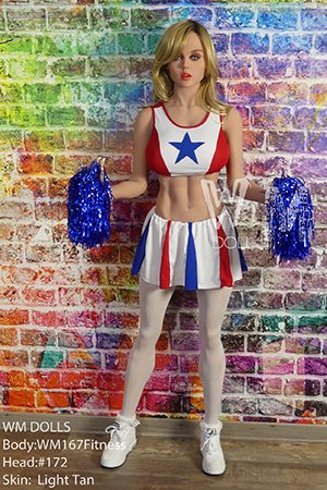 Cosplay Sex Doll Cheerleader