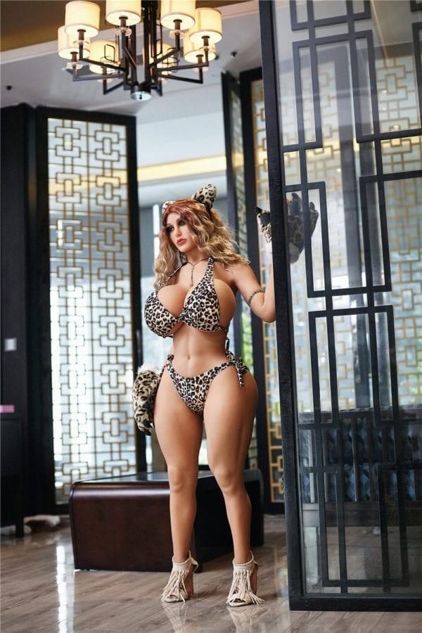 140 cm irontech sex doll maria standing