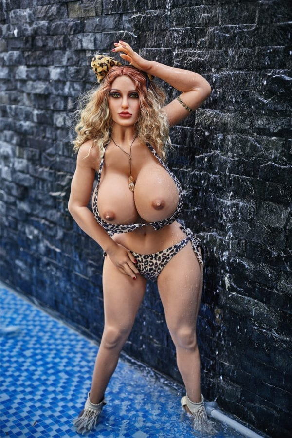 140 cm irontech sex doll maria showing nude boobs and nipples