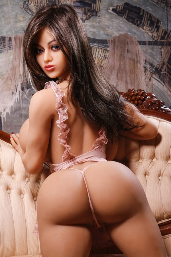 140 cm irontech sex doll amelia showing hips from back-2